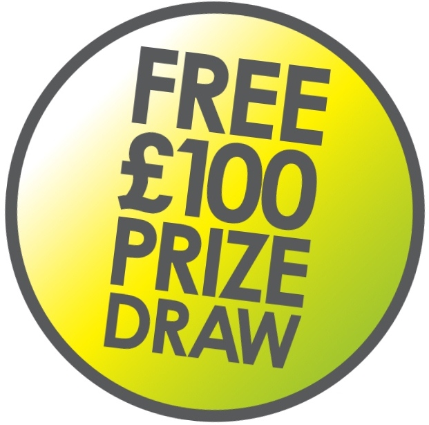 Cash Prize Draw logo